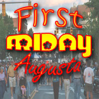 First Friday.... Augusta... Takin' the streets with His Glory!